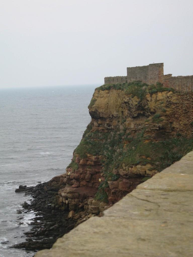 Cliffs at Tynemouth Priory