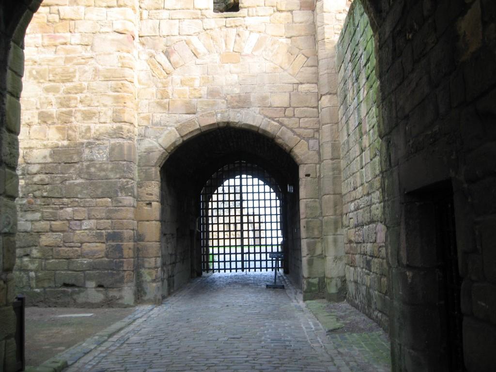 Courtyard Tynemouth Priory