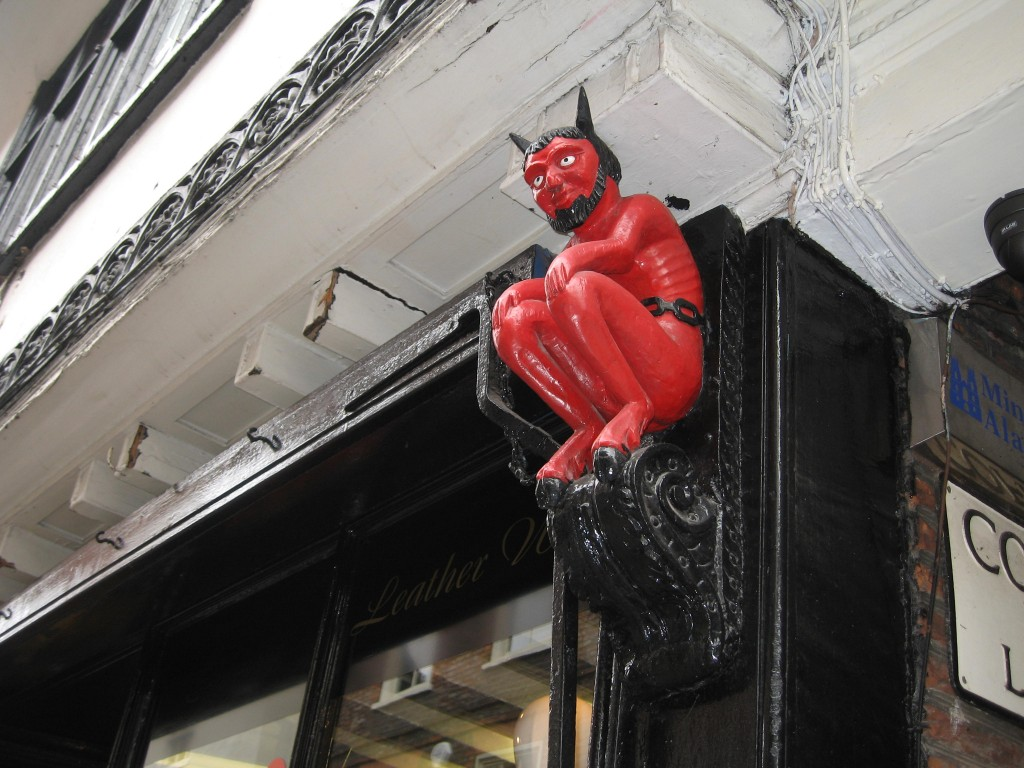 Red devil in York