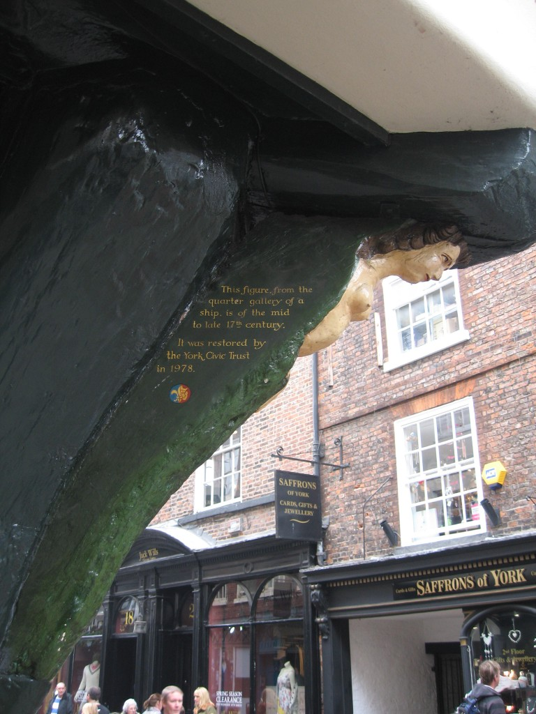 Figurehead in York