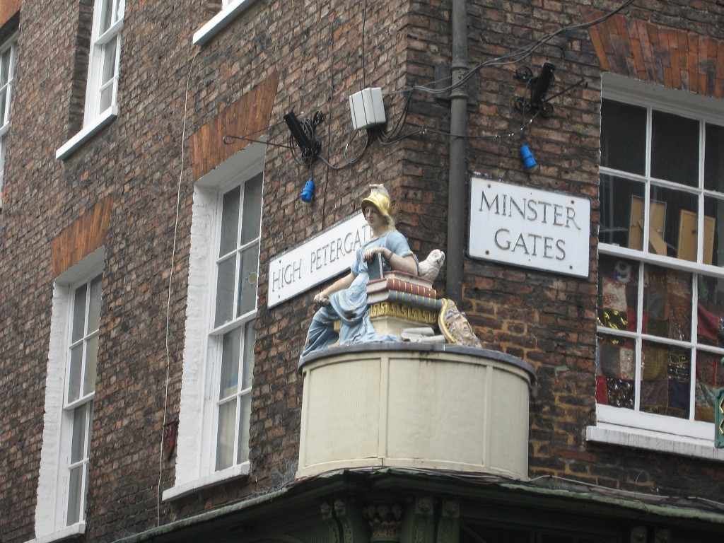 Britannia or Athena in York