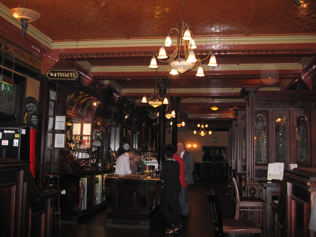Inside the Victoria Hotel in Leeds