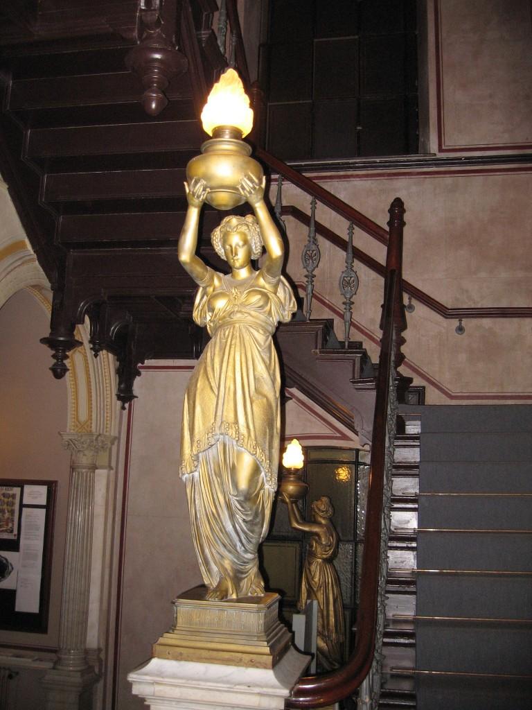 Art Noveau lamp