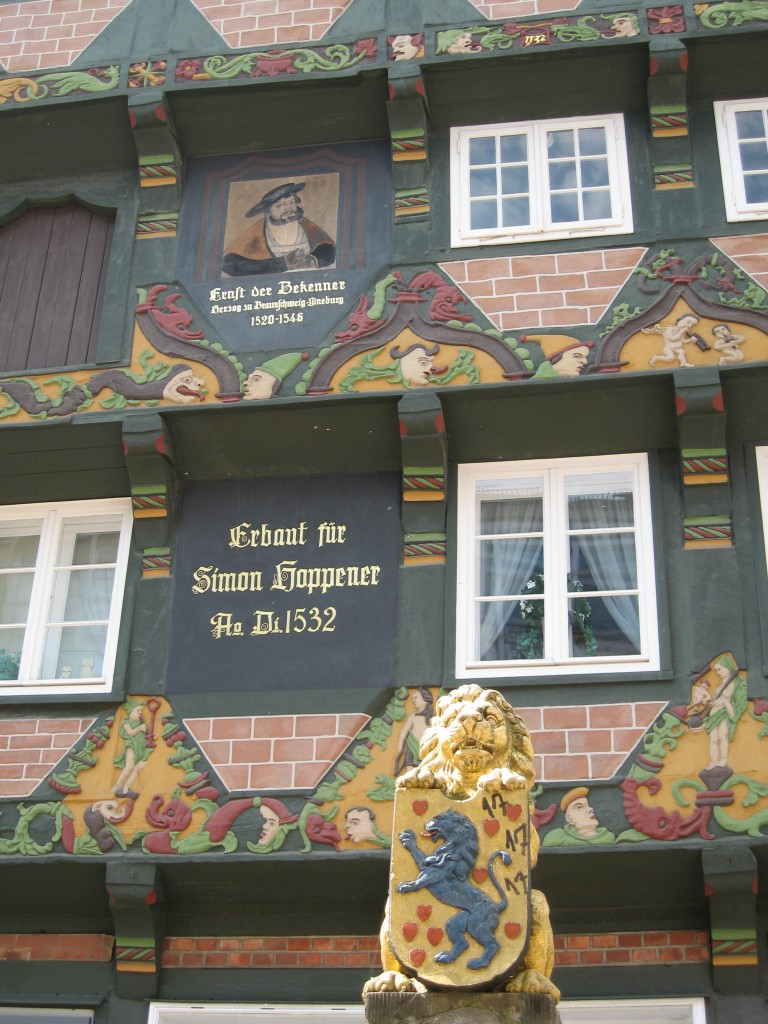 Timbered House close-up, Celle