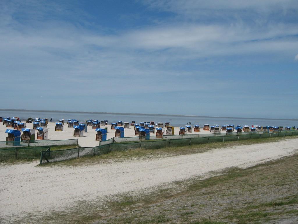 Beach baskets Harlesiel
