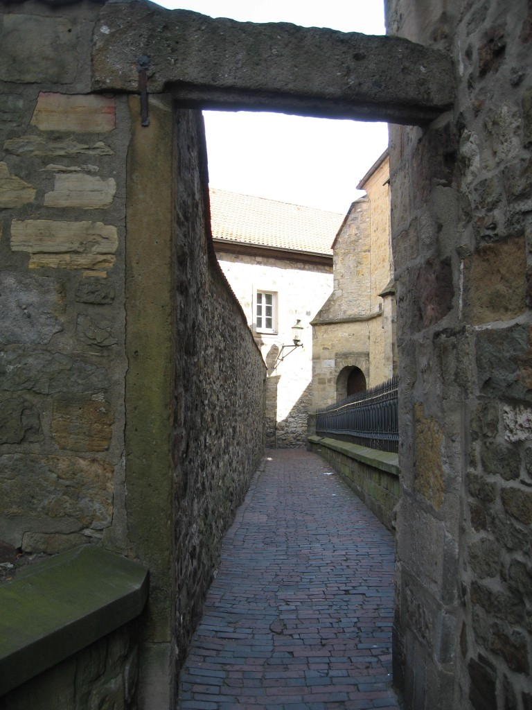 Narrow alley Osnabrück