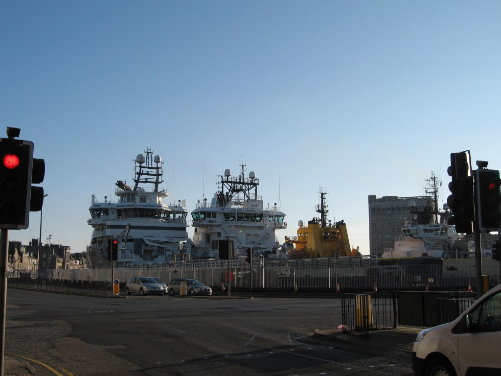 Aberdeen supply ships