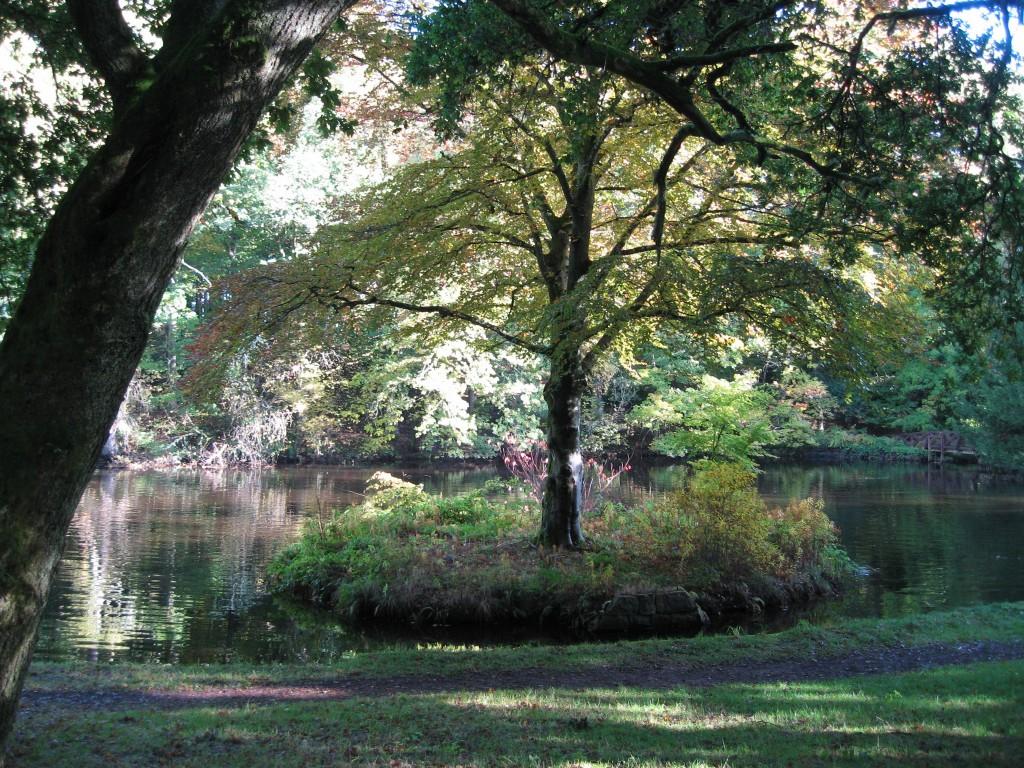 Crathes Castle lake
