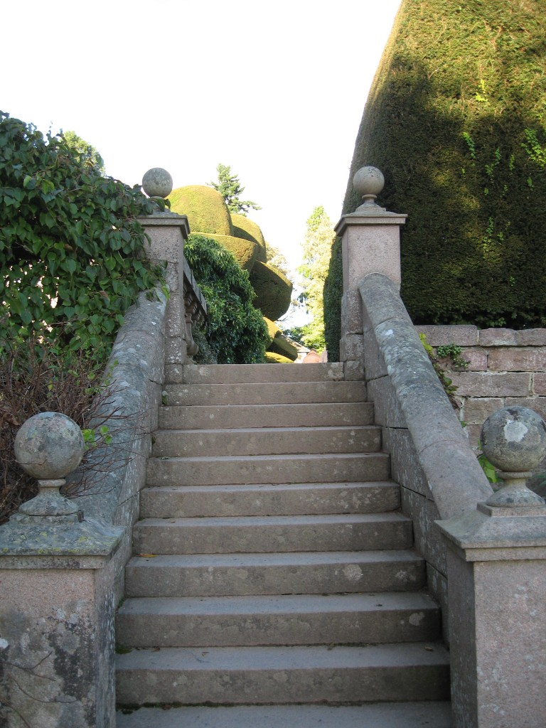 Crathes Castle stairs