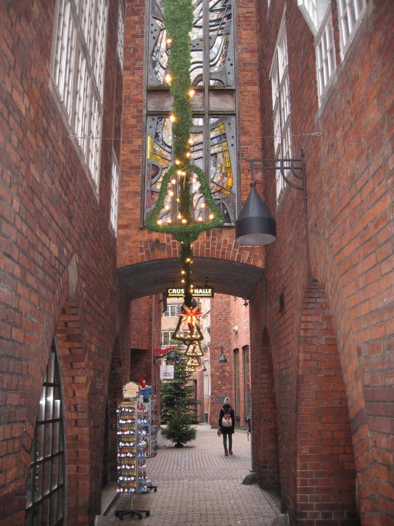 Böttcherstraße entrance