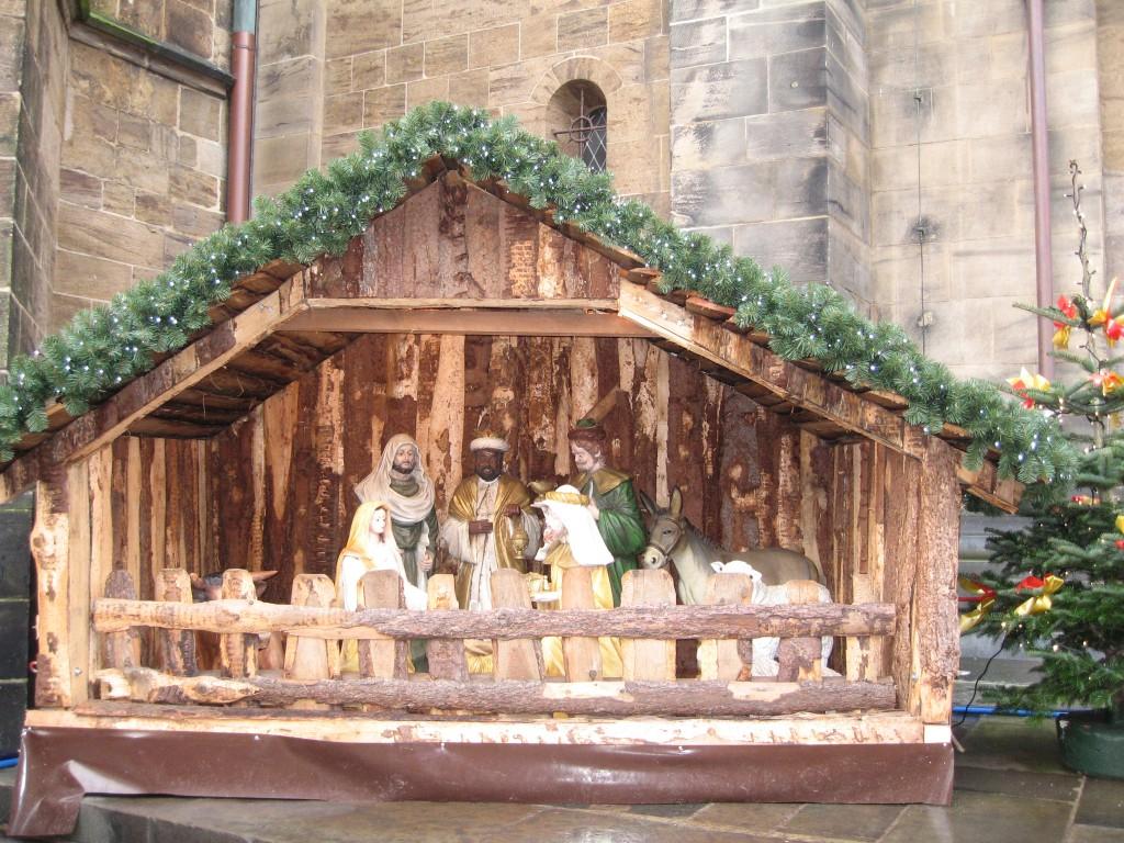 Bremen manger scene