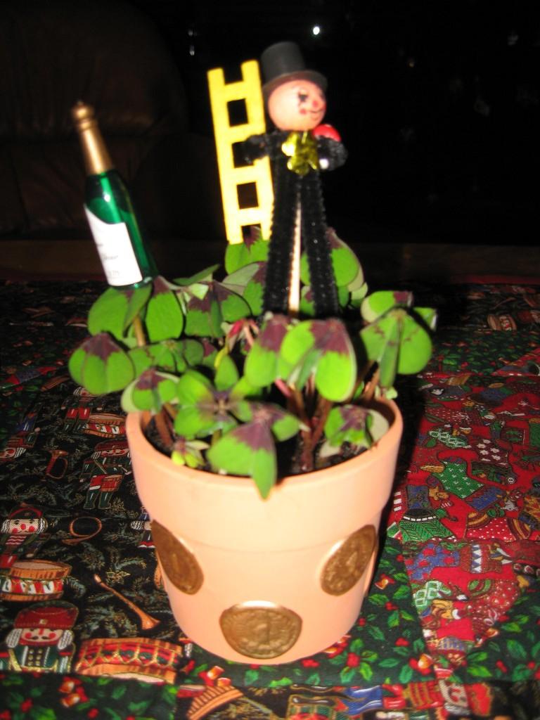 Clover pot