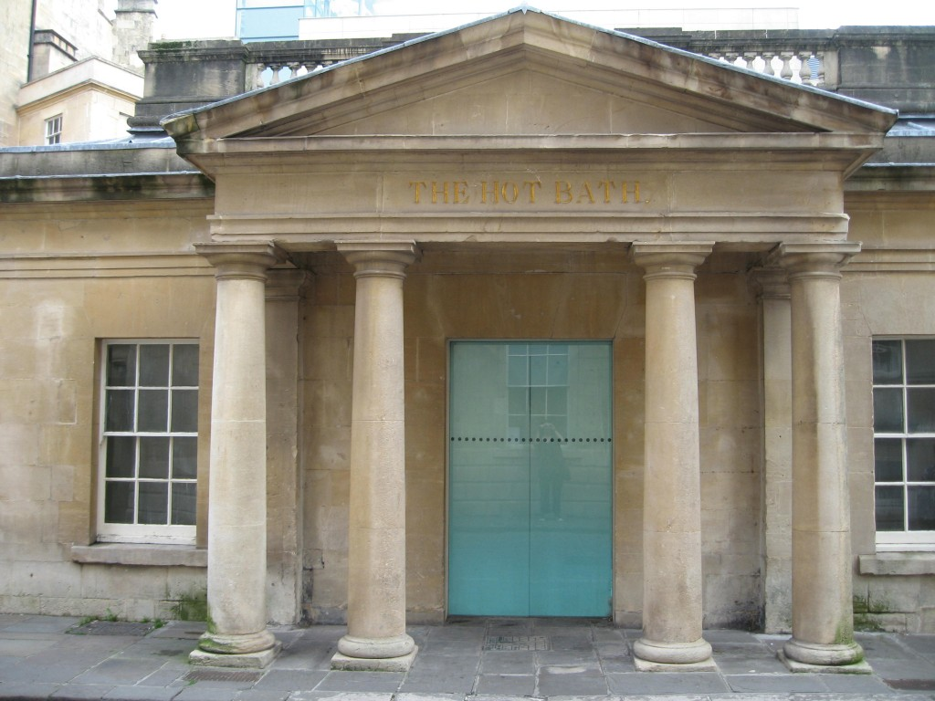 The Hot Bath, a Regency era bathhouse.