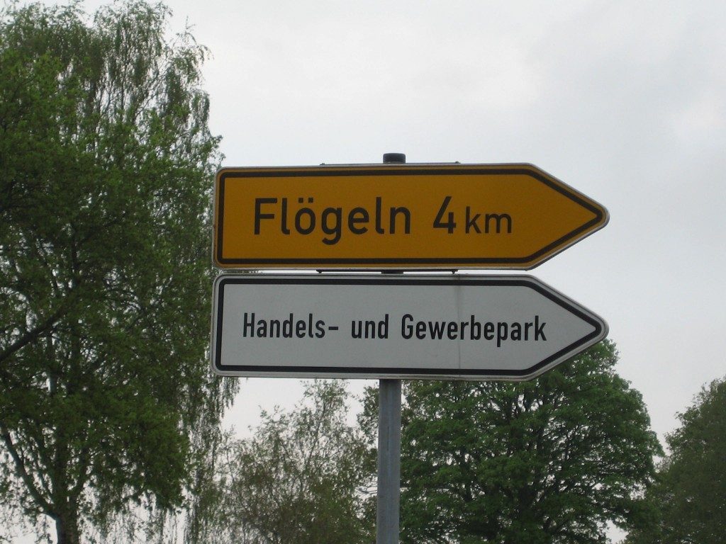 Flögeln - second worst town name ever