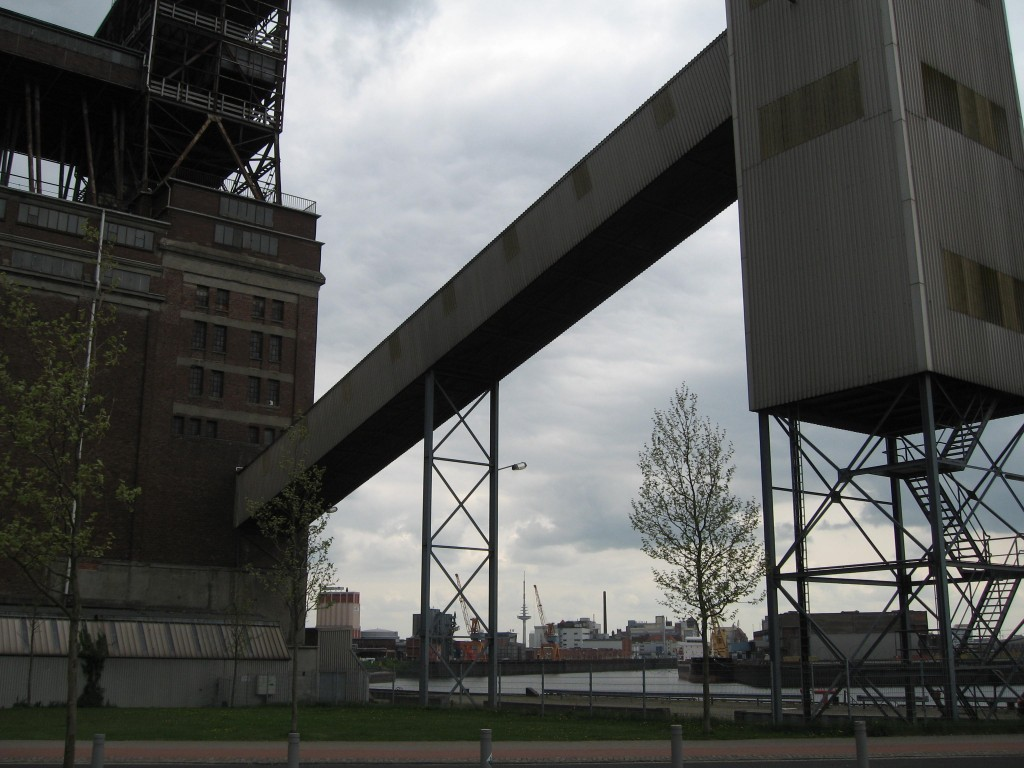 Bremen grain discharge plant