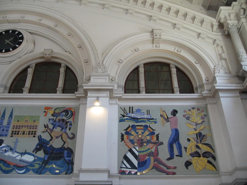 Bremen central station - Brinkmann mural