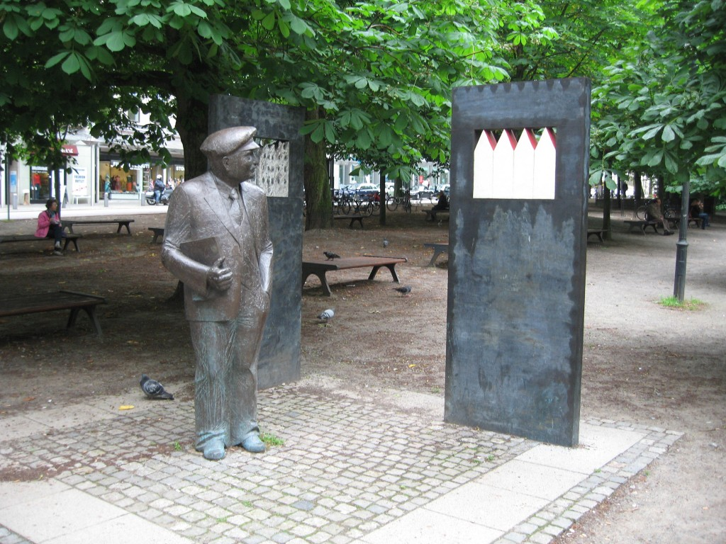 Bremen Wilhelm Kaisen monument