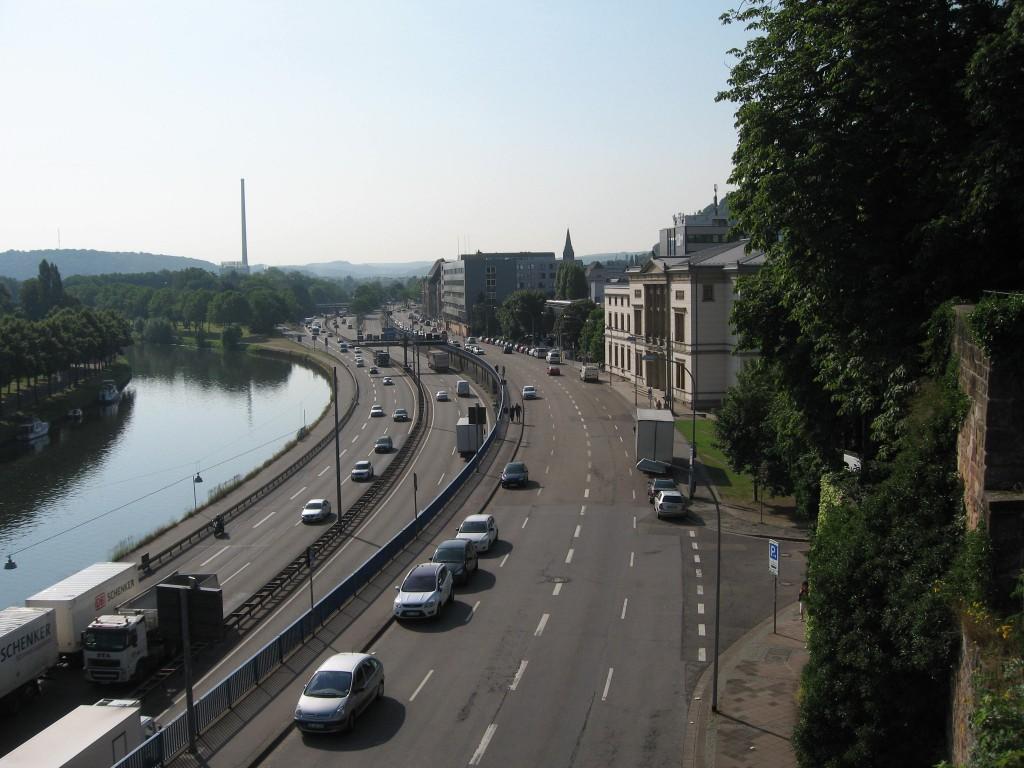 Saarbrücken Saar estuary