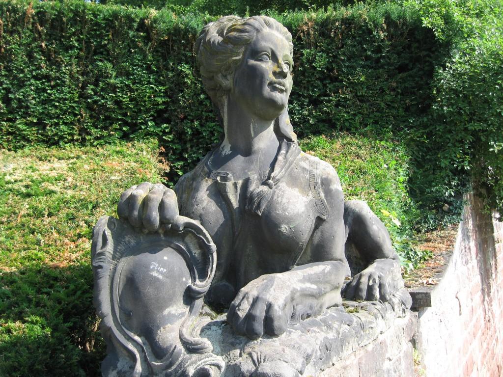 Sphinx Saarbrücken castle