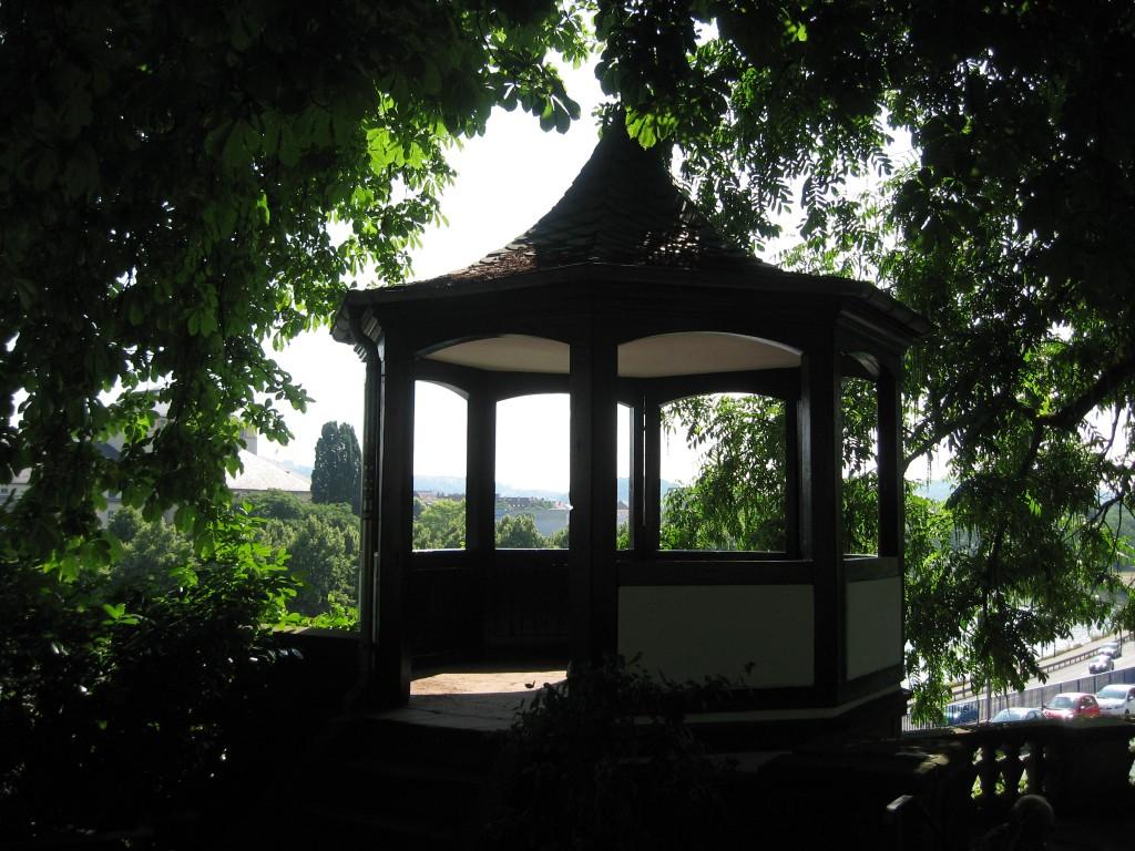 Saarbrücken castle garden pavillion
