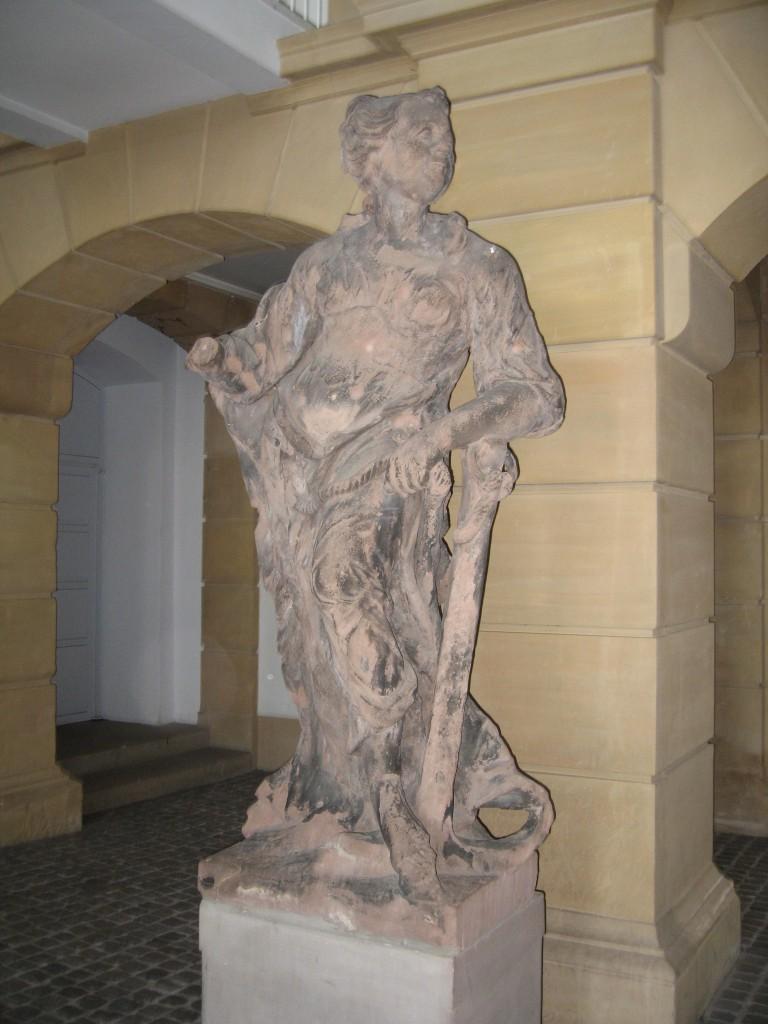 Baroque statue Saarbrücken