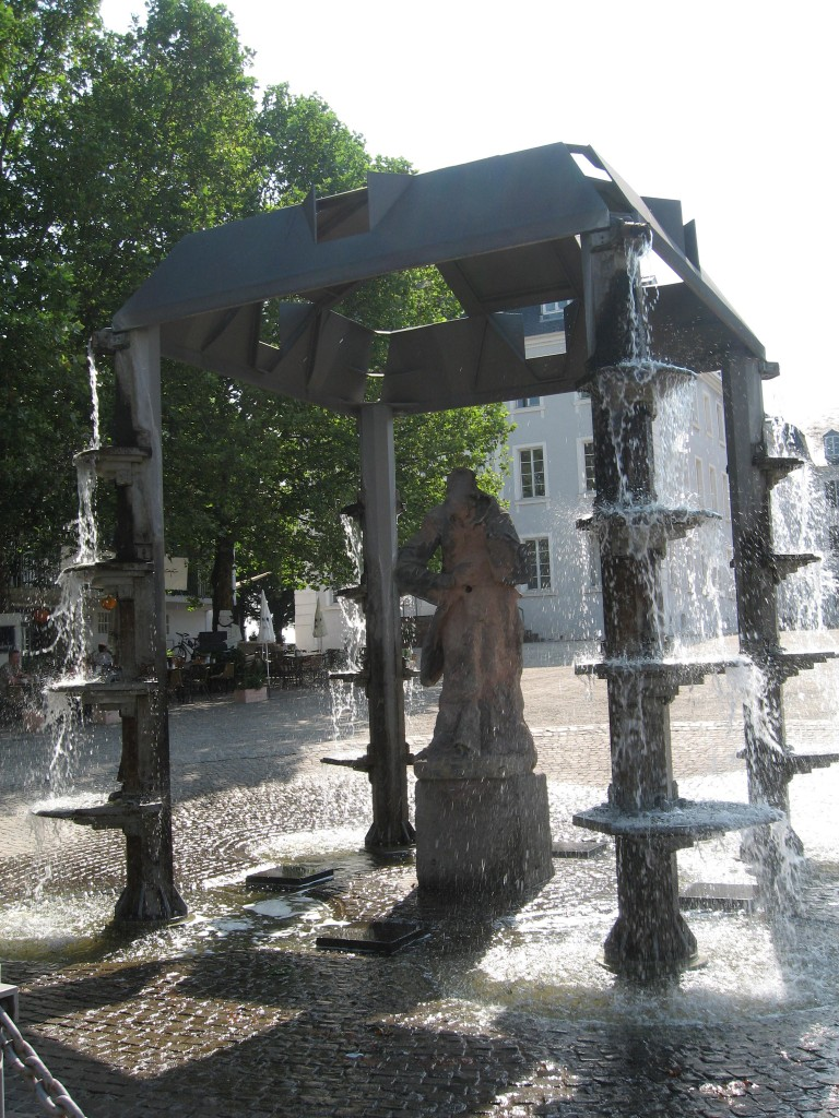 Saarbrücken fountain