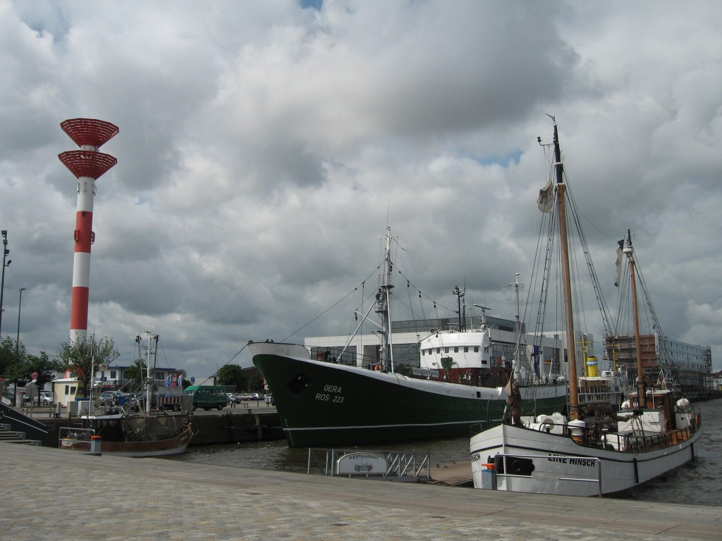 Bremerhaven fishing port