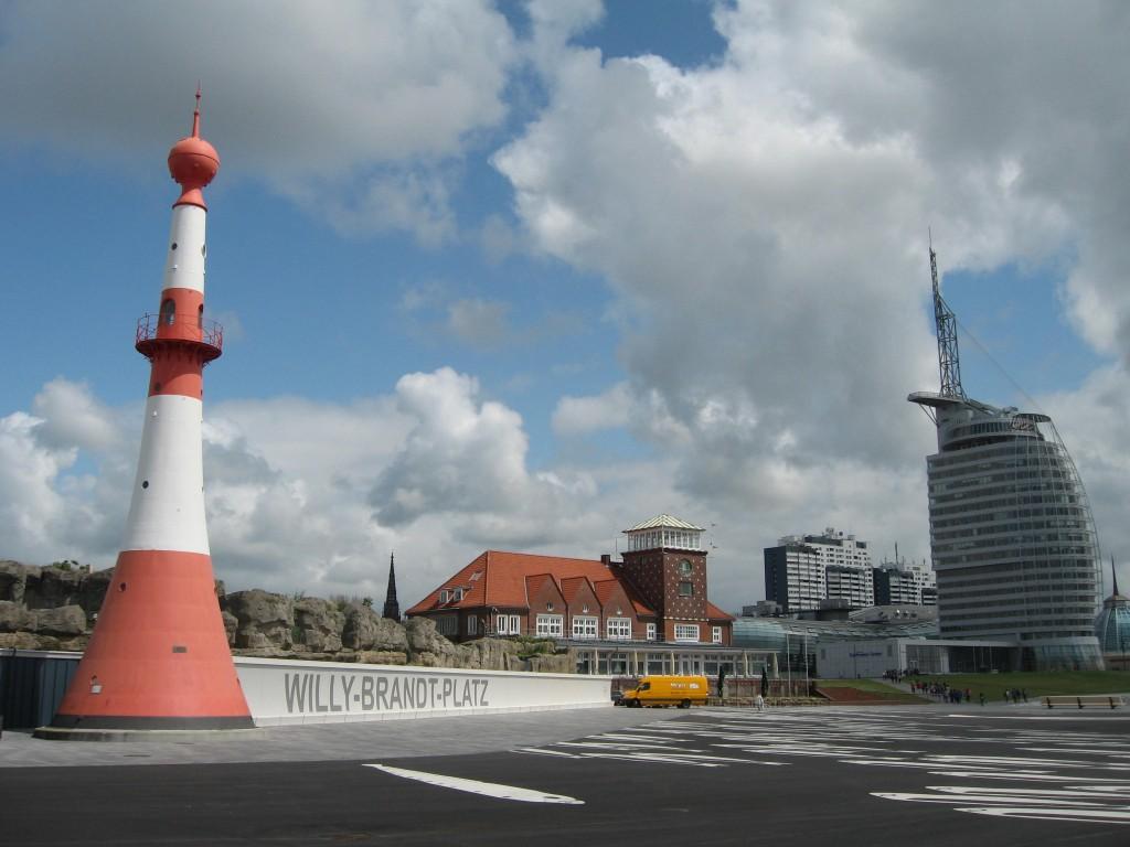 Bremerhaven skyline