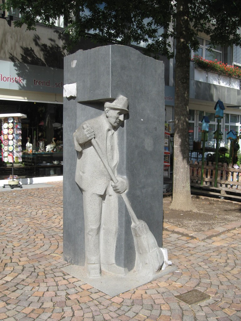 Vechta streetsweeper Martin
