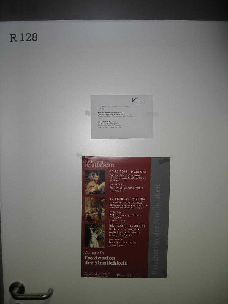 Vechta office door