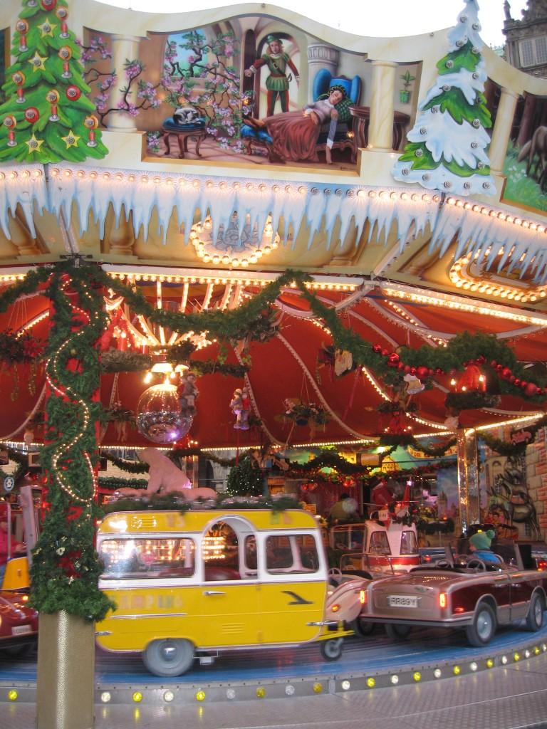 Bremen Christmas market carousel