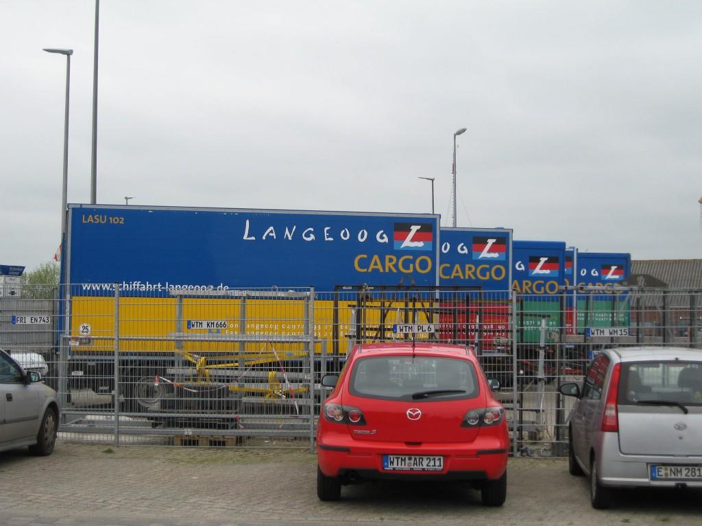 Langeoog cargo containers