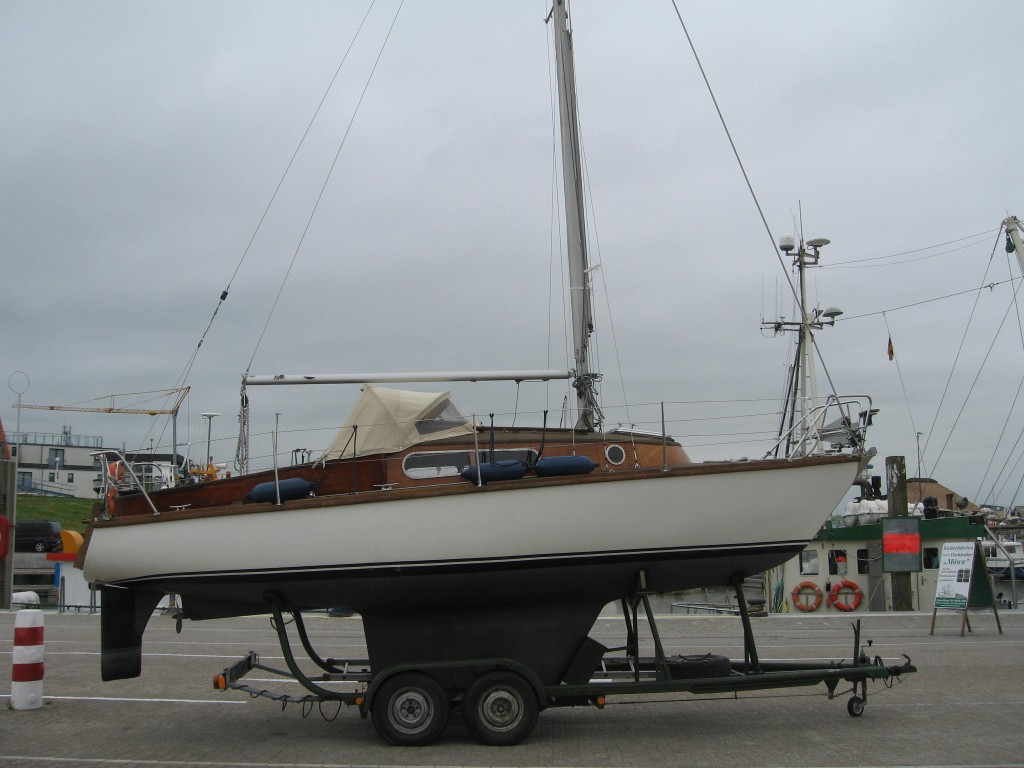 Sailing boat Bensersiel