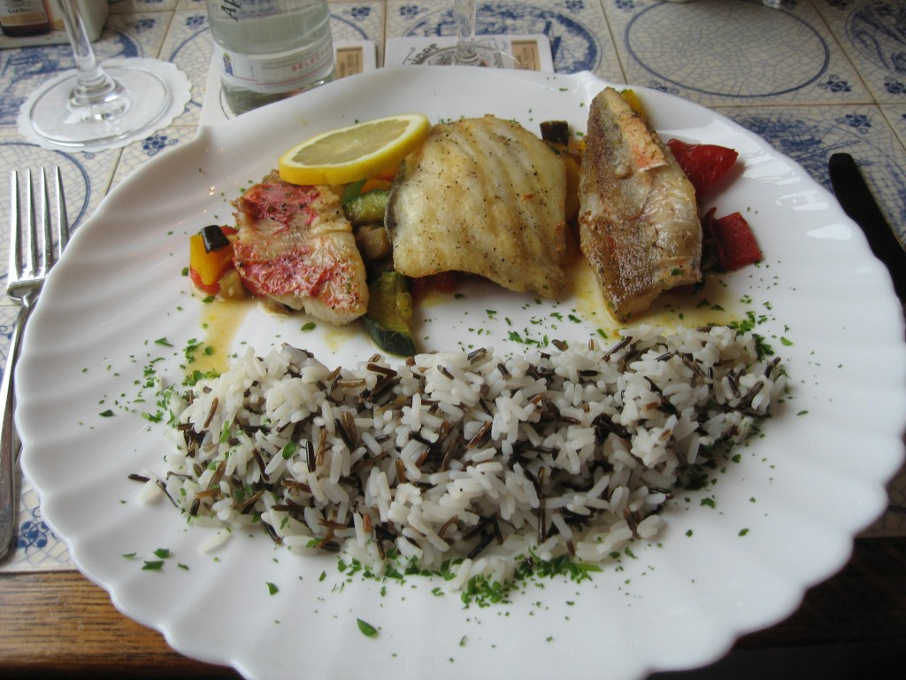Mixed fish platter