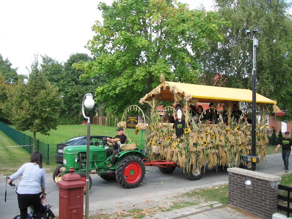 Harvest festival: float