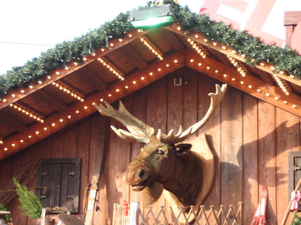 Bremen Christmas Market moose