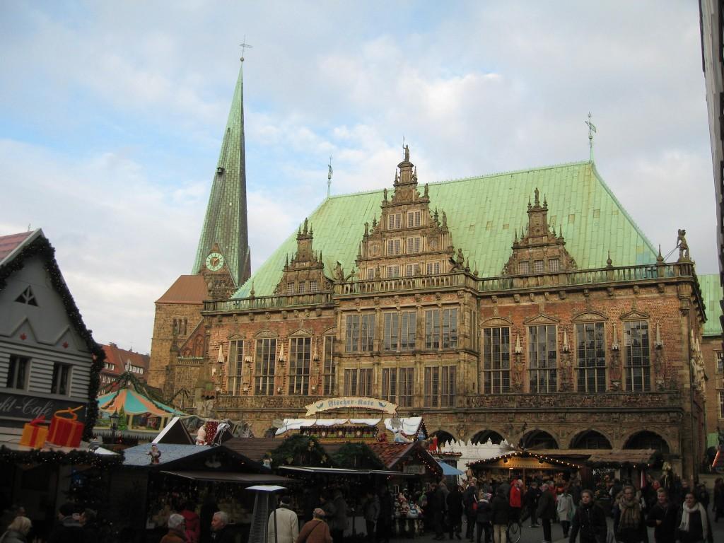 Bremen townhall Christmas market