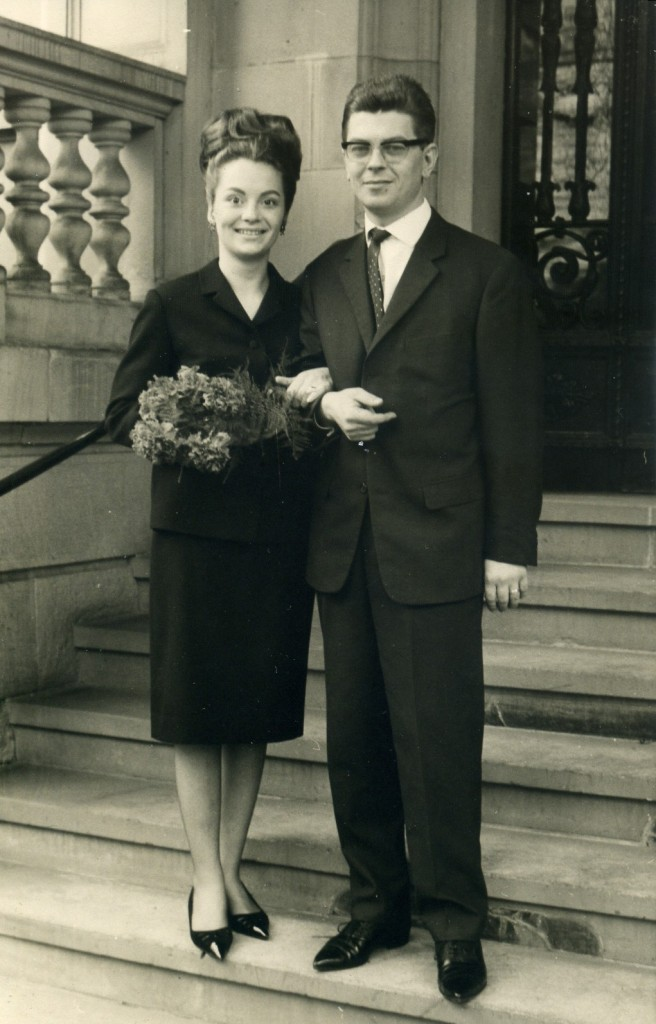 1965 wedding photo