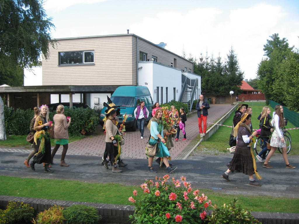 Harvest festival witchy women