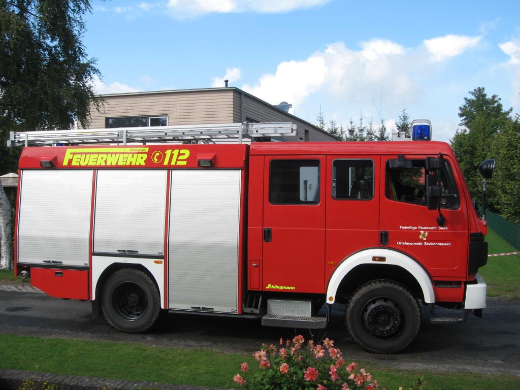 Harvest festival Fire truck
