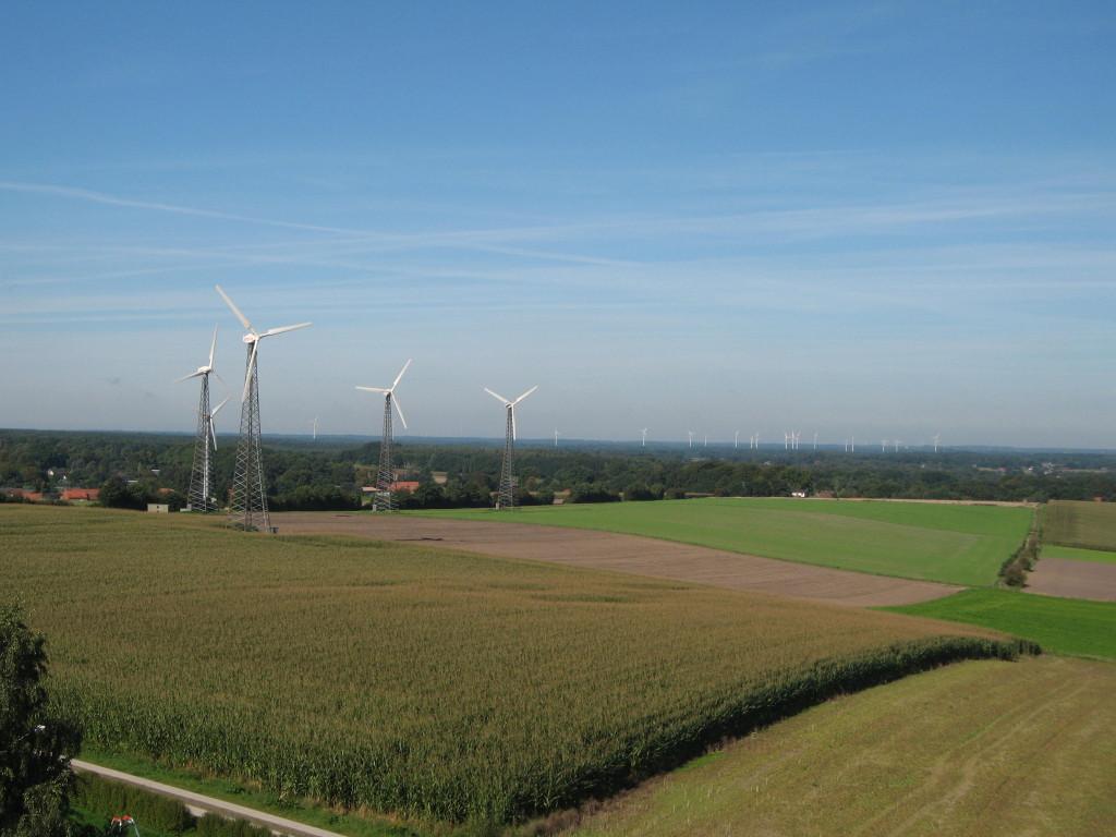 Hoher Berg wind turbines