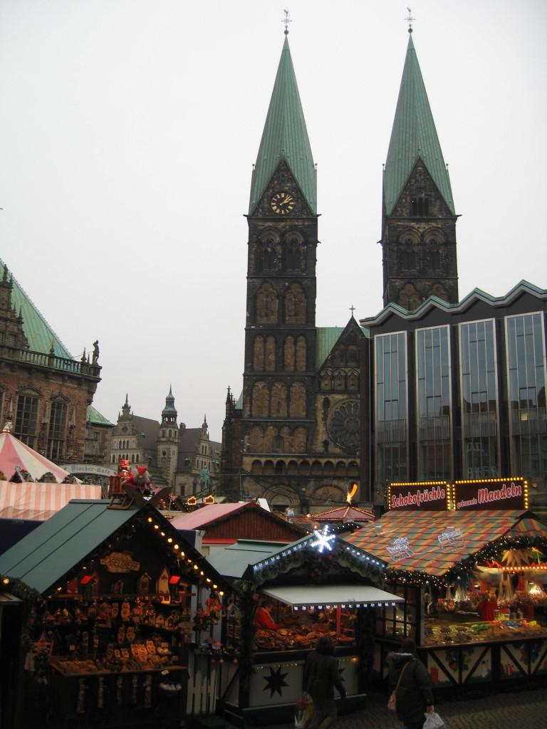 Bremen Marktplatz Christmas