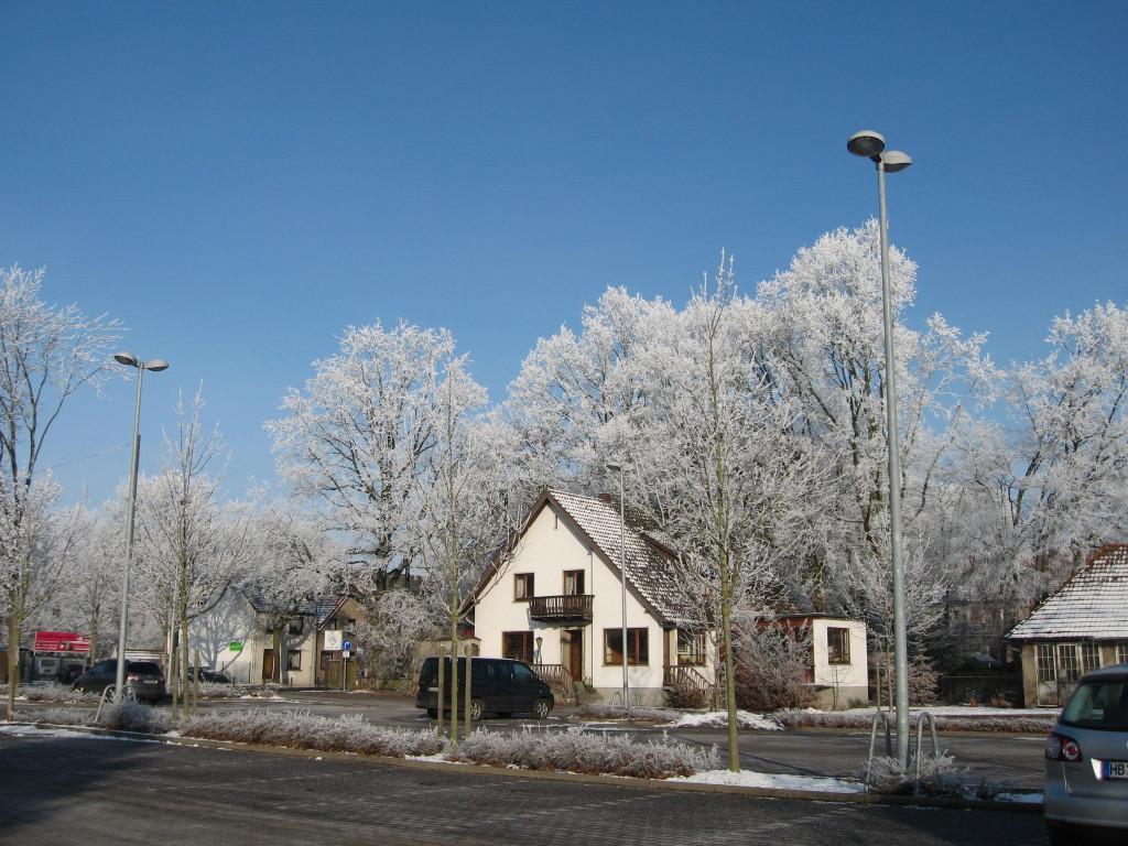 Hoarfrost house