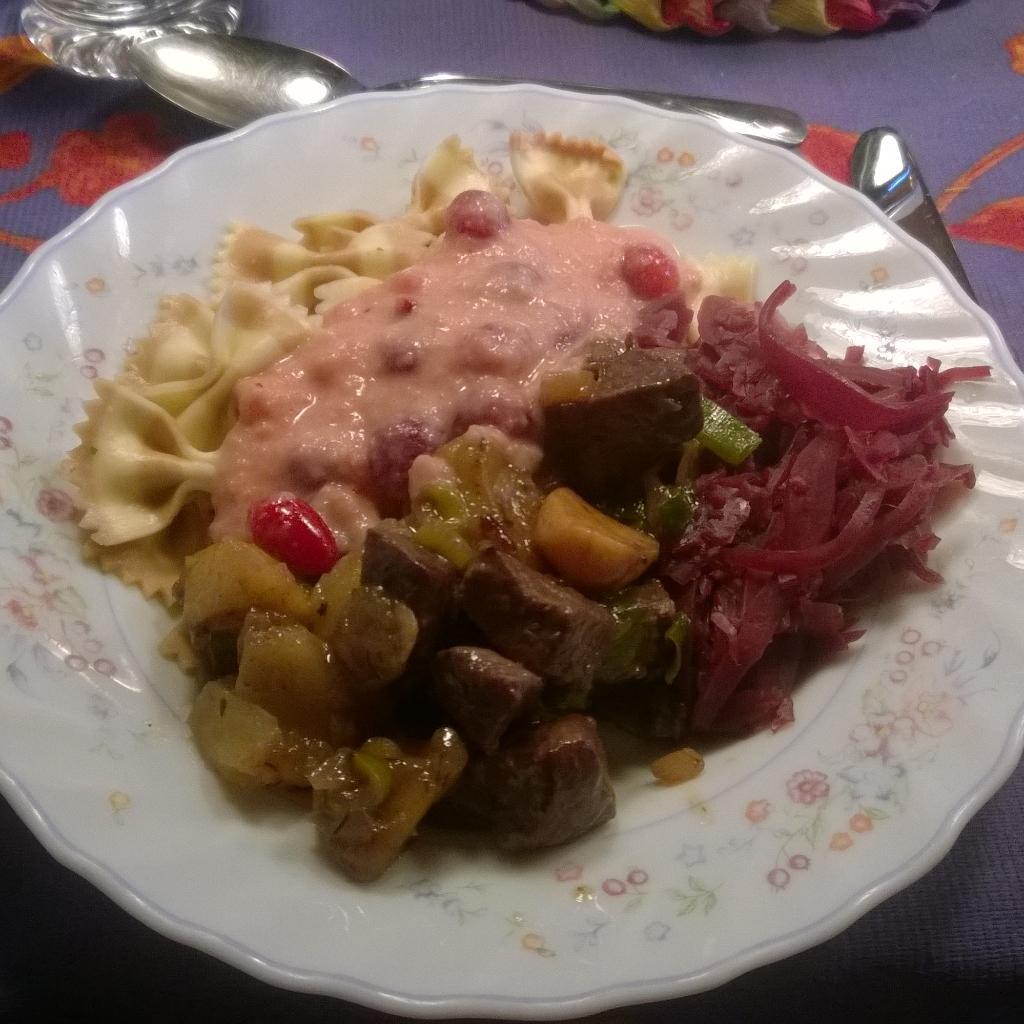 Venison meal