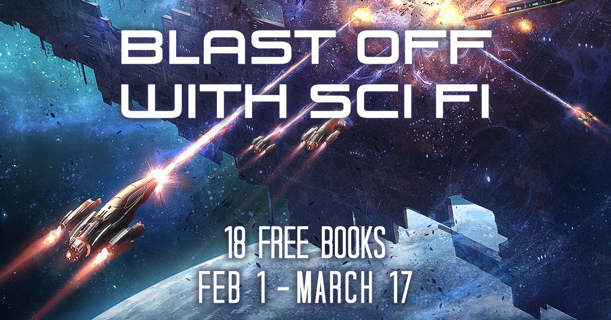 Blast Off with Sci Fi promo image