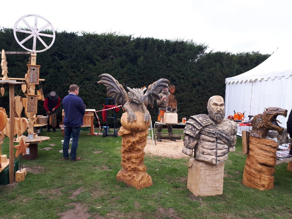 Steamfest Papenburg wood carving