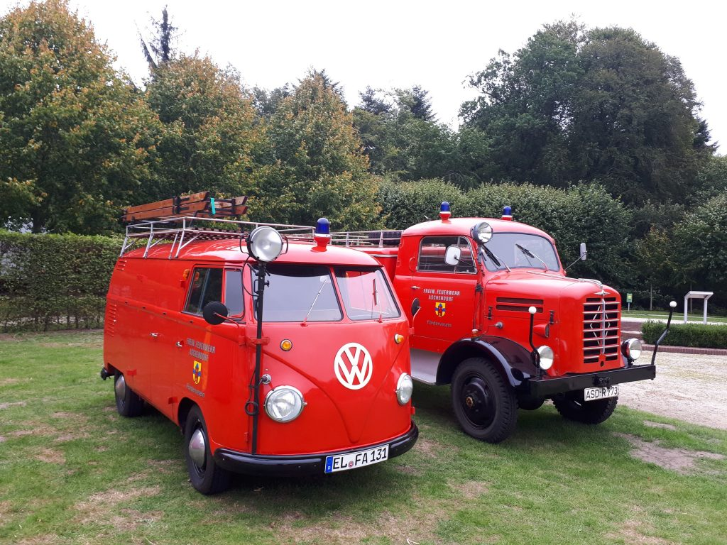 Fire engines at Steamfest