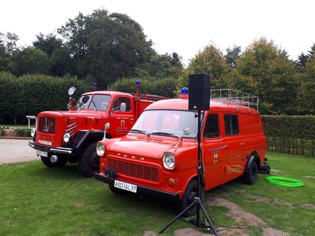 Fire vehicles Steamfest