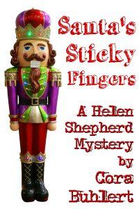 Santa's Sticky Fingers by Cora Buhlert