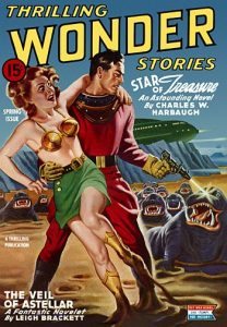Thrilling Wonder Stories, spring 1944